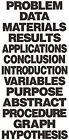 Flipside Flp20060 Project Board Titles Black