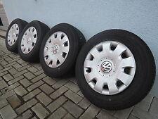 15 Zoll KOMPLETTRADSATZ VW Touran Golf 5 6 Audi A3 6x15 ET47 Original 1K0601027T