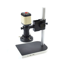 Industry Video Microscope Camera SetHD Kit C-mount Lens LED Light PCB Soldering