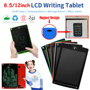 8-5-034-12-034-Digital-LCD-eWriter-Tablet-Pad-Drawing-Graphics-Board-Notepad-w-Magnet