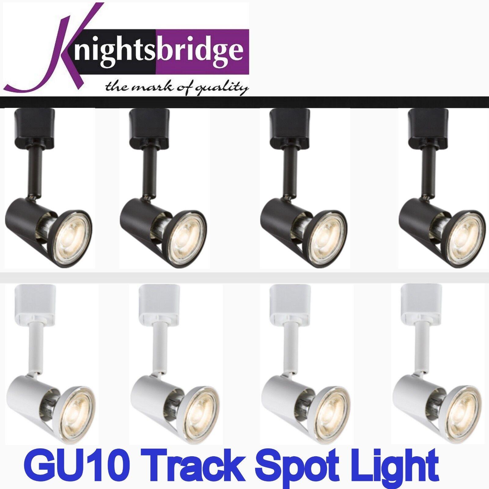 Led 1m 5m Circuit Piste Spot 2 10 Spot Piste Simple Éclairage Clair GU10 Lampe Kit 9cac0c