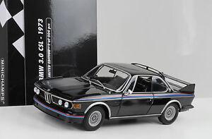 BMW CSL E Batman Black Minichamps Pcs Diecast - 1975 bmw 3 0 csl