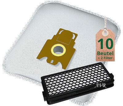 10 Staubsaugerbeutel und 1 Hepa Filter passend für Miele S5781