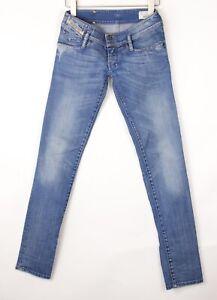 DIESEL Women Matic Slim Tapered Stretch Jeans Size W26 L34