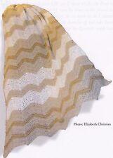 Crochet Pattern ~ TAN RIPPLE AFGHAN ~ Instructions