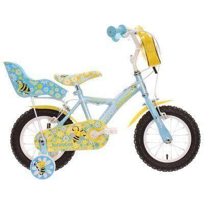 """Apollo Honeybee Kids Bike Bicycle Steel Frame Mudguards 12"""" Inch Wheels"""