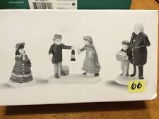 a Peaceful Glow on Christmas Eve (set of 3) Dept 56 Heritage Village 58300 Snow
