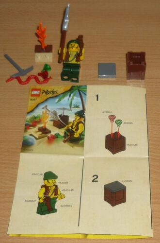2009 OBA Lego Piraten 8397 Pirat am Lagerfeuer v