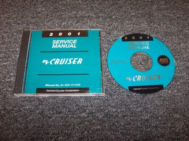 2001 Chrysler Pt Cruiser Workshop Shop Service Repair