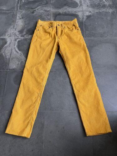 LEVI'S LEVI STRAUSS 511  Slim Fit Mustard Yellow C