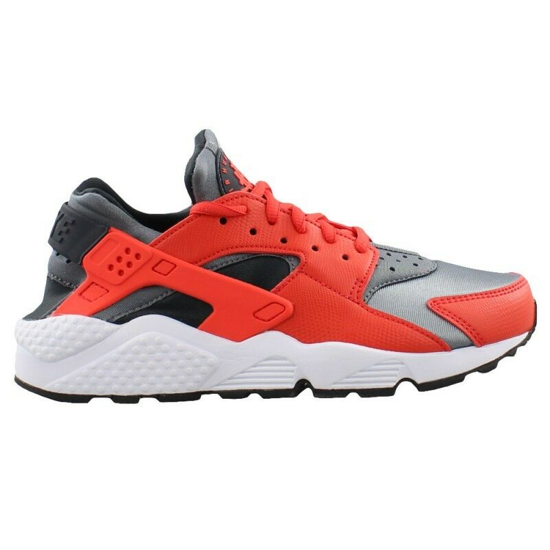 634835-802 Women's Nike Air Huarache Run Shoe   MAX ORANGE/COOL GREY
