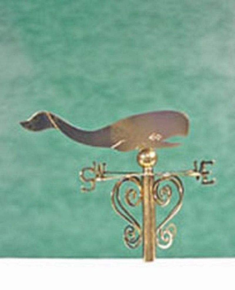 Weather vane 1910-100 1//12 scale dollhouse miniature by Clare-Bell Rooster
