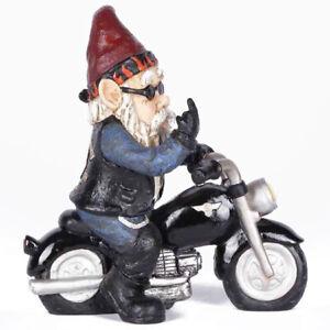Outdoor Garden Funny Gnome Ornament Dwarf Resin Stone Effect Tall  Decor Hot
