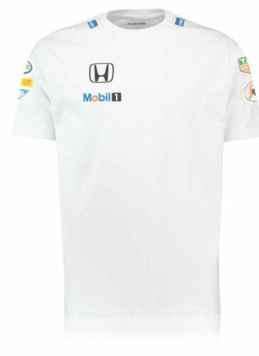 Official McLaren Honda 2015 Men's Sponsor Cotton T-Shirt, Size: XXL (48/50)