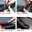 5M Orange Door Panel Gap Trim Molding Moulding Strip Line Red For Car Accessory