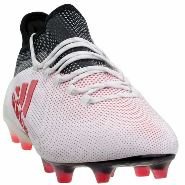 separation shoes fbc2e 03c29 adidas X 17.1 Firm Ground Casual Soccer Firm Ground Cleats White - Mens -  Size