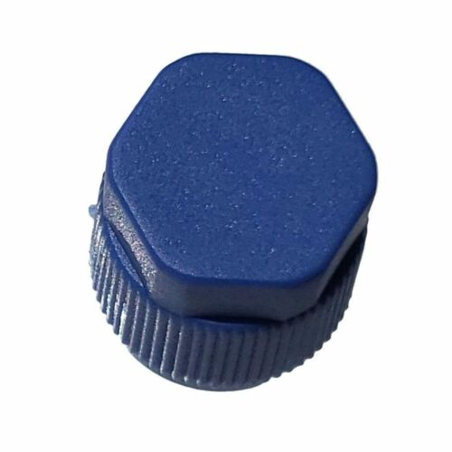 10x A//C Charge Port Service Cap Blue Low Side M9x1.0 R134A Fit MT0061