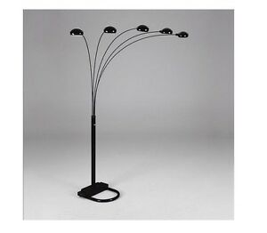 5 arms arch floor lamp include 5 light bulbs shades available in image is loading 5 arms arch floor lamp include 5 light mozeypictures Choice Image
