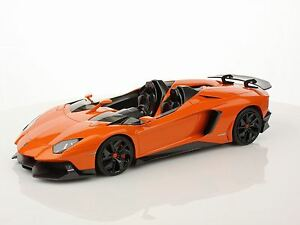 Lamborghini Aventador Orange Atlas Limited 99 Exemplaires Mr 1/18