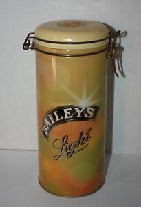 BAILEY'S LIGHT Irish Cream Liquor Gift Tin Container