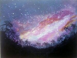 Beautiful-Galaxy-oroginal-acrylic-painting-on-canvas-direct-buy-from-artist