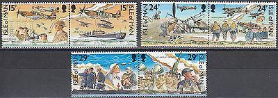 Humorvoll Isle Of Man Nr Jahrestag Der Luftschlacht Um England SchnäPpchenverkauf Zum Jahresende 442-447** 50
