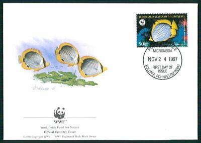 Gut Micronesia Schmuck-fdc 1997 Wwf Fauna Fische Tropical Fish Pesce Peche Em07 HöChste Bequemlichkeit