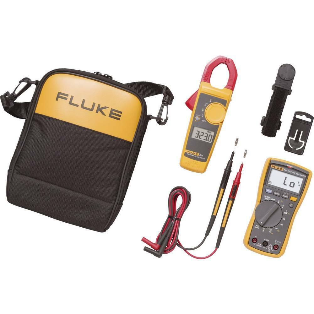 Fluke 117 323 Hand-Multimeter, Stromzange digital CAT III 600 V Anzeige