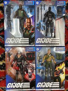 GI Joe Classified Series lot of 4 brand new 01-04 Figures Sealed