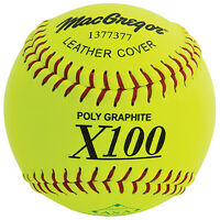 Macgregor X52re Asa Slow Pitch 12 Softball - Leather (1 Dozen) on sale