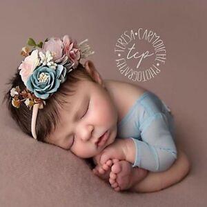 3Pcs Baby Girl Cute Princess Headbands Floral Flower Crown Hair Band ... 292545e78334