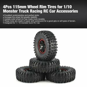 4Pcs-115mm-Wheel-Rim-Tires-for-1-10-Monster-Truck-Racing-RC-Car-Accessories