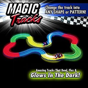 Magic Tracks The Amazing Racetrack that Can Bend, Flex Glow 11Ft As Seen on TV