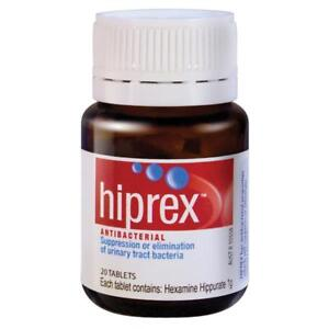 HIPREX-ANTIBACTERIAL-20-TABLETS-SUPPRESS-amp-ELIMINATE-URINARY-TRACT-BACTERIA