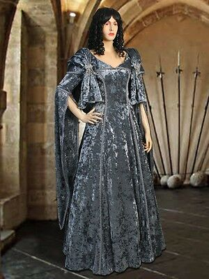 Renaissance Costume Gown Gothic wedding Dress Handmade Tudor Clothing