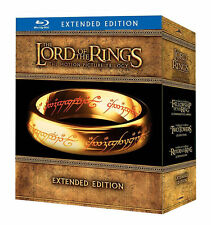 The Lord of the Rings: Blu-ray Trilogy Movies Extended Collector's Edition NEW!