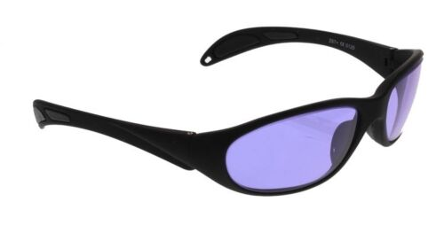 Phillips 202 Didymium Glass Working Spectacles in Black Maxx Wrap Safety Frame