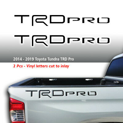 Toyota TRD Off-Road Flag US Racing Tacoma Tundra 2 Decals Truck off road T1