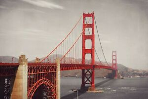 A1-Golden-Gate-Bridge-Poster-Art-Print-60-x-90cm-180gsm-San-Francisco-8206