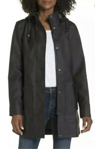 UGG-Australia-RYLIE-Rubber-Trench-Jacket-Raincoat-Women-s-Sz-XL-MSRP-250-00
