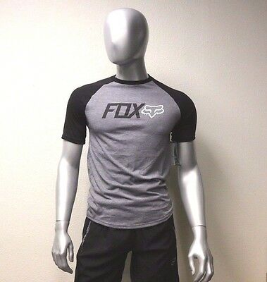 Fox Racing Warmup s//s Tech Tee Shirt Heather Black