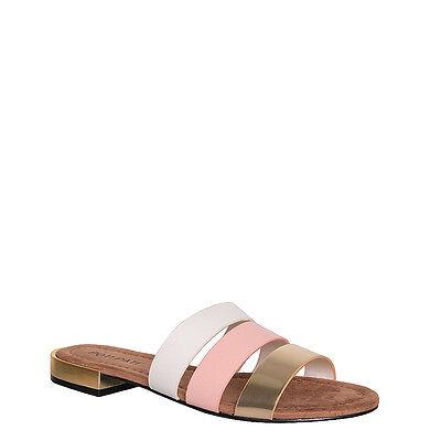 Damen Slipper Hausschuh Riemchensandalen Zehentrenner Flach Sommer Schuhe