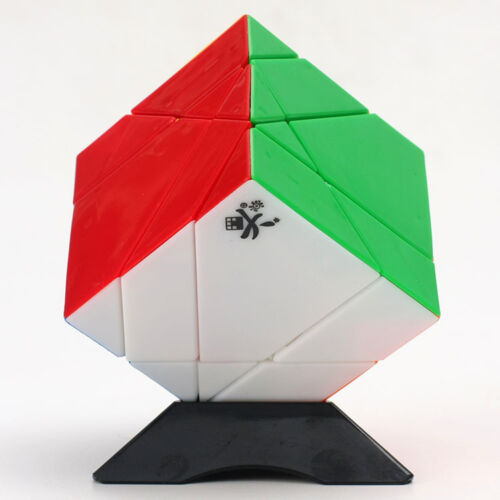 Dayan 5 Axis 3 Rank Tangram Cube Magic Twist Puzzle DY Stickerless Forever Color