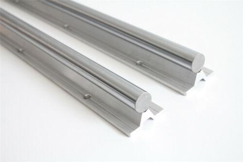2x L200-1500mm 20mm Welle SBR20 Linearlager stützen schiene CNC Linear Motion