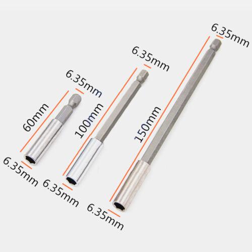 Verlängerung Bit Halter Set Magnetisch für Power Bohrer Impact Fahrer Teil 3