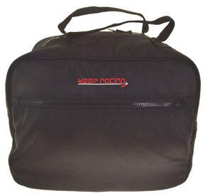 keep-racing® Helmtasche schwarz,schwarze Nähte,Zusatztasche,weiches Innenfutter