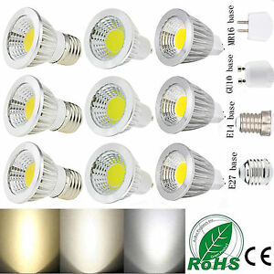 MR16-GU10-E27-E14-regulable-6w-9w-12w-LED-COB-Bombillas-Foco-Lampara