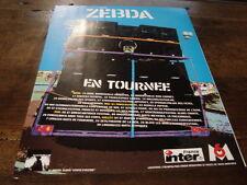 ZEBDA - PUBLICITE DATES TOURNEE UTOPIE D'OCCASE !!!!!!!