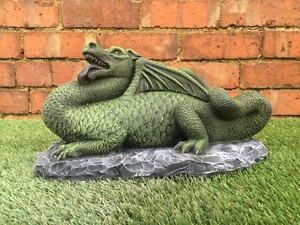 Image Is Loading Large Dragon Garden Statue Ornament Latex Only Mould