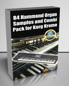 Details about B4 Hammond Organ Samples and Combi Pack ! for Korg Krome -  Digital Download
